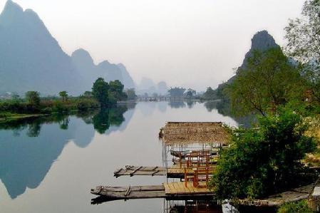 paisajes naturales hermosos. hermosos paisajes de china